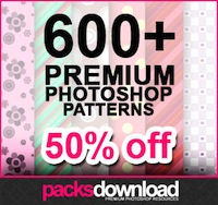 600+ Premium Hi-Res Photoshop Patterns - only $12!