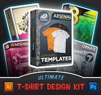 Ultimate T-Shirt Design Kit from Go Media's Arsenal