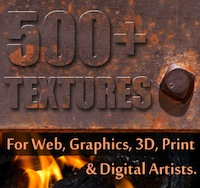 Over 500 Textures with Extended Royalty License - only $27!