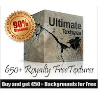 650+ Texture Pack + 450 FREE Backgrounds - 90% off!