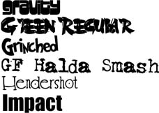 Sample Fonts 3