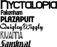 Sample Fonts 5